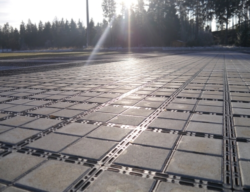 The Benefits of Ecoraster's Permeable Paving System in the Summer